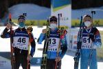 Тройка призёров спринта