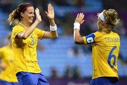 Лондон - 2012. Футбол (жен). Группа F