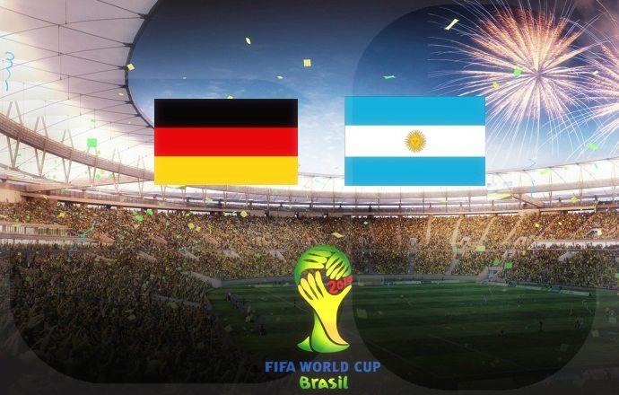Чемпионат мира. Финал. Германия становится чемпионом мира!