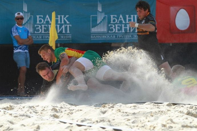 VIII Московский турнир по пляжному регби. Фотогалерея