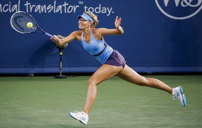 Мария Шарапова вышла в полуфинал турнира в Цинциннати
