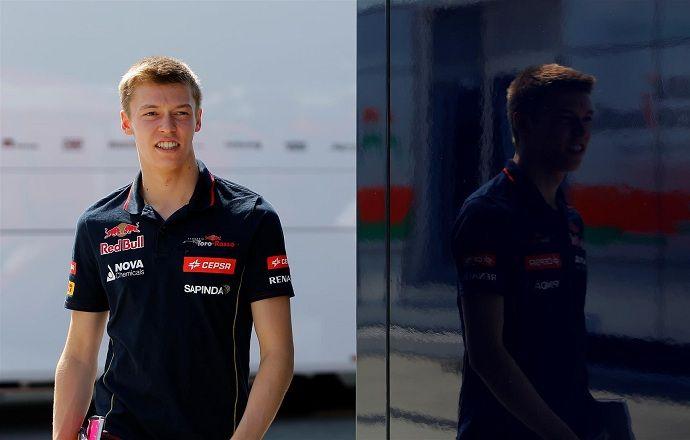 Даниил Квят показал третий результат на тестах в Барселоне