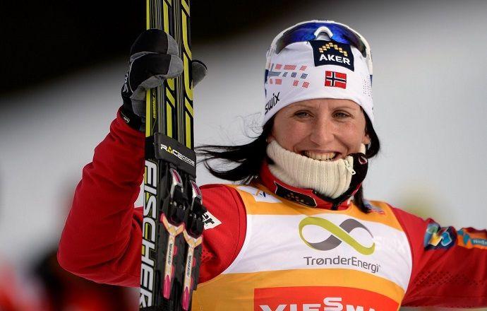 Марит Бьорген побила рекорд Елены Вяльбе