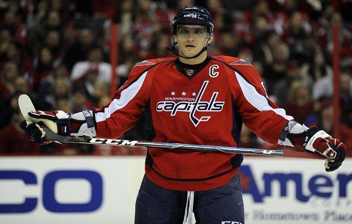 Овечкин признан третьей звездой февраля в НХЛ