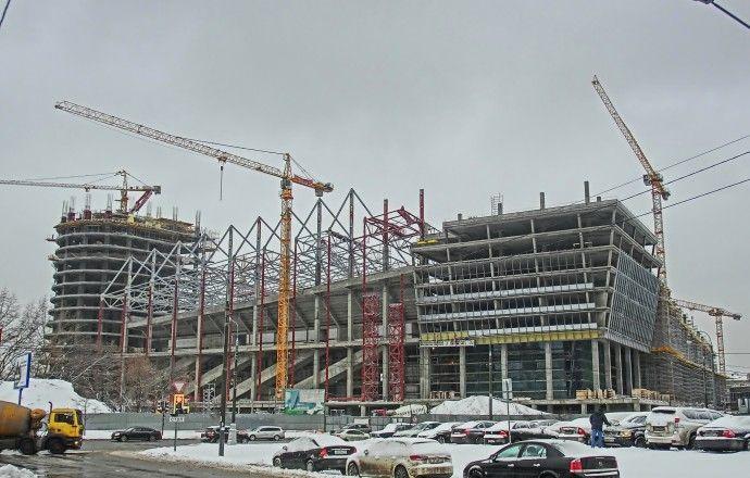 Строительство трибун на стадионе ЦСКА будет завершено летом нынешнего года