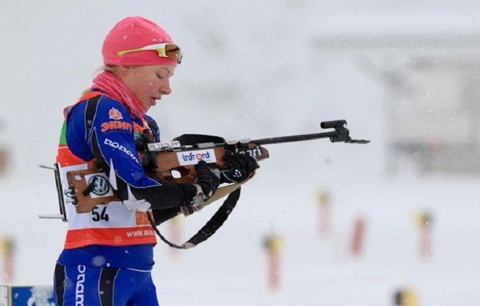 Галина Нечкасова - четвёртая в индивидуальной гонке на этапе Кубка IBU