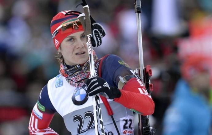 Россияне заняли 6-е место в смешанной эстафете на этапе Кубка IBU
