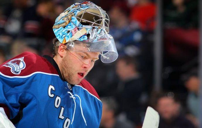 """Голкипер """"Колорадо"""" Семён Варламов признан первой звездой дня в НХЛ"""