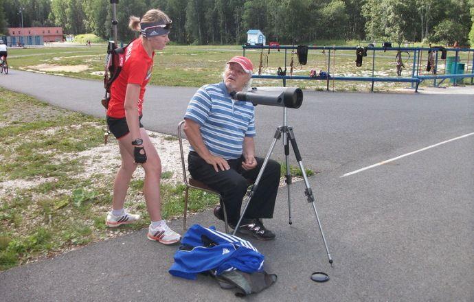 Личный тренер биатлонистки Глазыриной Валерий Шитиков ушёл из жизни на 76-м году