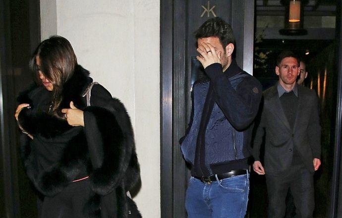Месси и Фабрегас были замечены в одном из лондонских казино