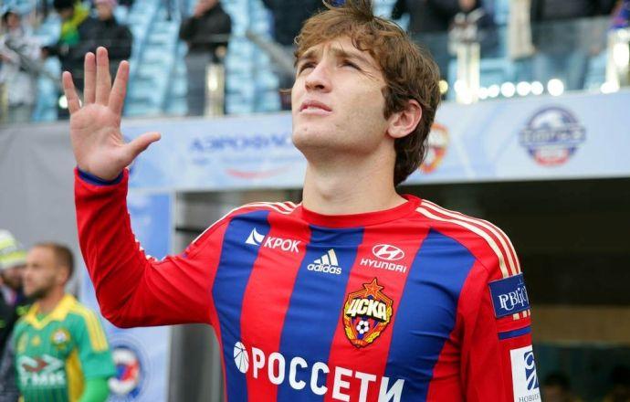 Из-за перелома носа защитник ЦСКА Фернандес пропустит около 10 дней