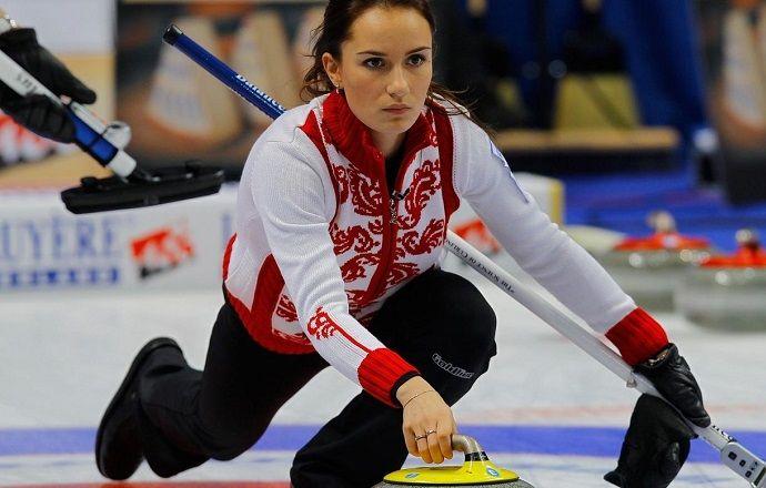 Женская сборная по кёрлингу одержала третью победу подряд на ЧМ
