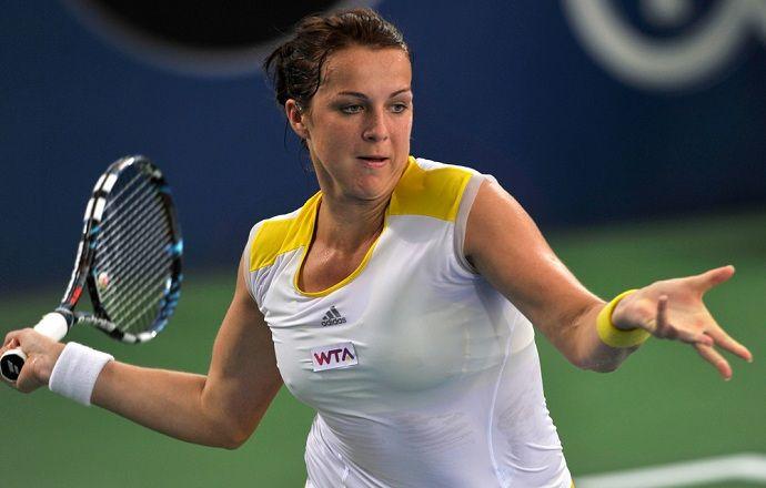 Анастасия Павлюченкова впервые в карьере уступила Карле Суарес Наварро