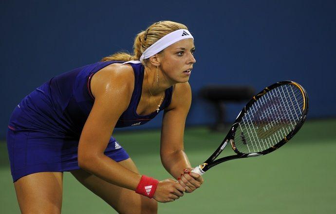Сабин Лисицки прошла в полуфинал турнира в Индиан-Уэллсе