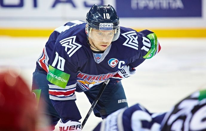 Мозякин стал первым игроком, забившим 40 голов в розыгрыше Кубка Гагарина