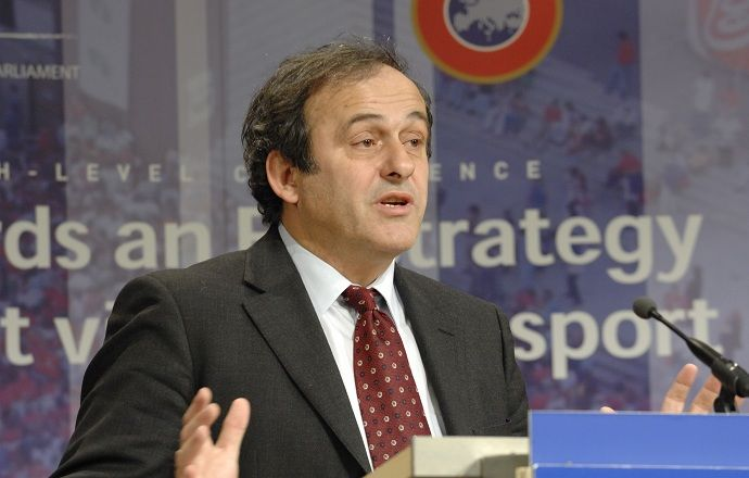 Мишель Платини переизбран президентом УЕФА на третий срок