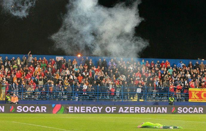 УЕФА откроет дисциплинарное дело по матчу Черногория - Россия