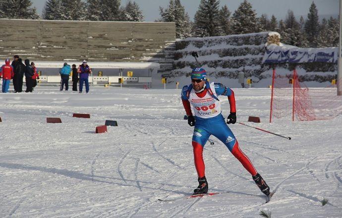 Сергей Клячин выиграл гонку преследования на чемпионате России