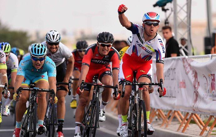 """Велогонщик """"Катюши"""" Кристофф выиграл общий зачёт многодневки в Бельгии"""