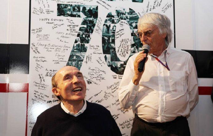 """Сэр Фрэнк Уильямс: """"Формула 1 стала успешной, благодаря Берни Экклстоуну"""""""