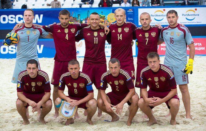 Объявлены соперники сборной России на этапе Евролиги по пляжному футболу в Москве
