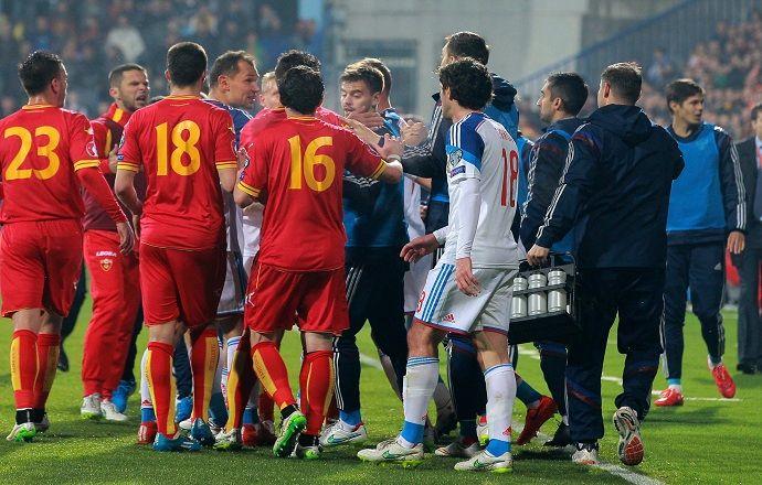 Жёлтые карточки, полученные в матче Черногория - Россия, останутся в силе