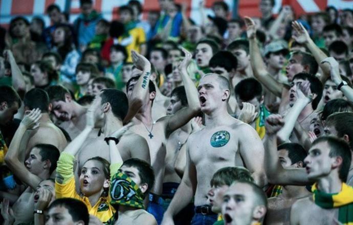 """Болельщики """"Кубани"""" скандируют оскорбительные речёвки в адрес """"Краснодара"""""""