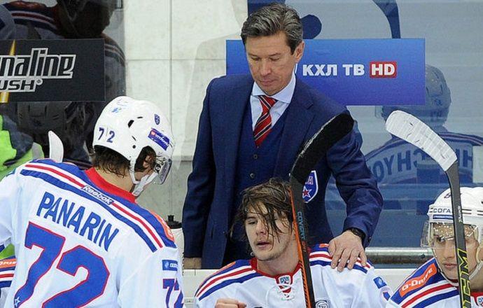 Вячеслав Быков пообещал отпустить Панарина в случае победы СКА в Кубке Гагарина