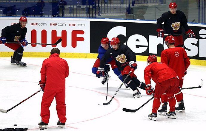 Стал известен состав сборной России на стартовый матч чемпионата мира