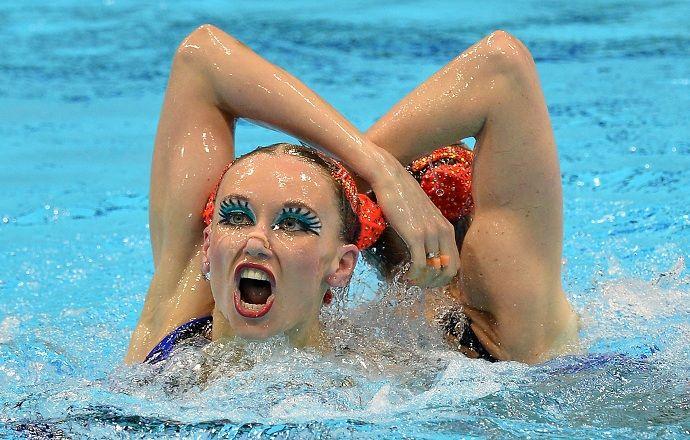 Ищенко и Ромашина победили на КЕ по синхронному плаванию