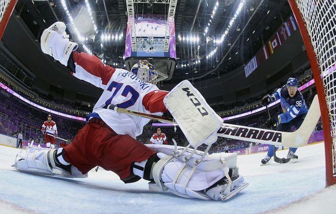 Сергей Бобровский сыграет в воротах сборной России в финале ЧМ, второй номер - Худобин