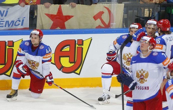 В регламенте IIHF нет наказания за то, что команда не прослушала гимн