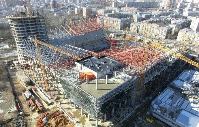 ЦСКА начнёт играть на своём стадионе весной 2016 года