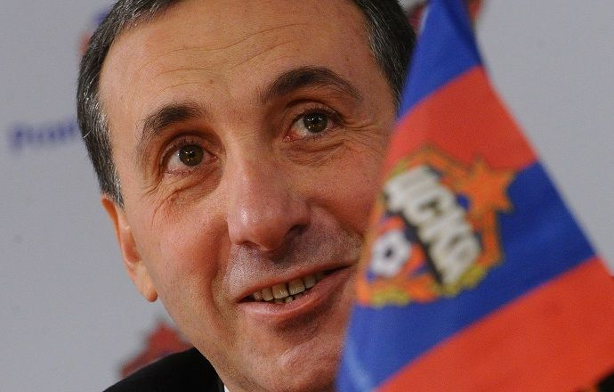ЦСКА поздравил Евгения Гинера с днём рождения