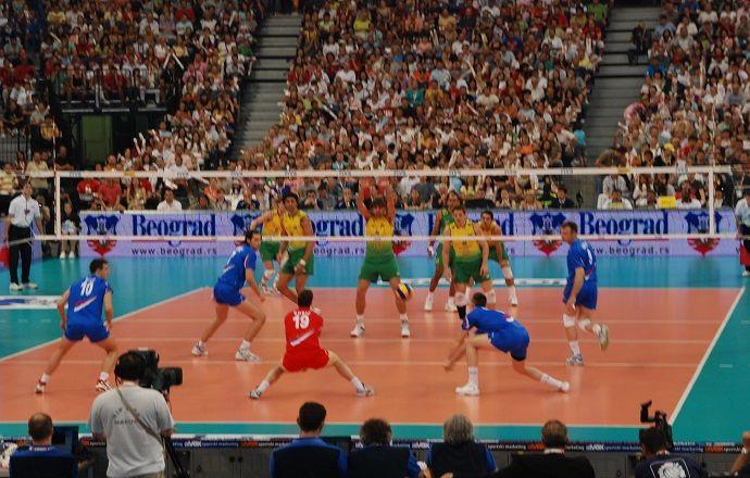 Бразилия сильнее сербов на старте Мировой лиги