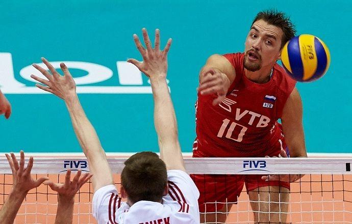 Российские волейболисты потерпели второе поражение от сборной Польши в рамках Мировой лиги-2015