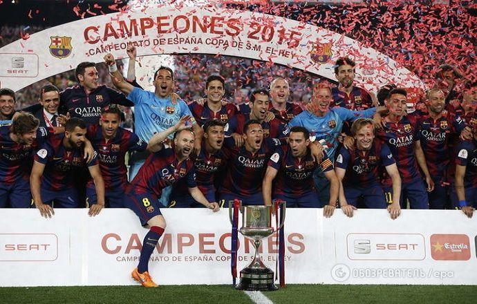 """""""Барселону"""" и """"Атлетик"""" могут оштрафовать за неуважение их болельщиков к гимну Испании"""