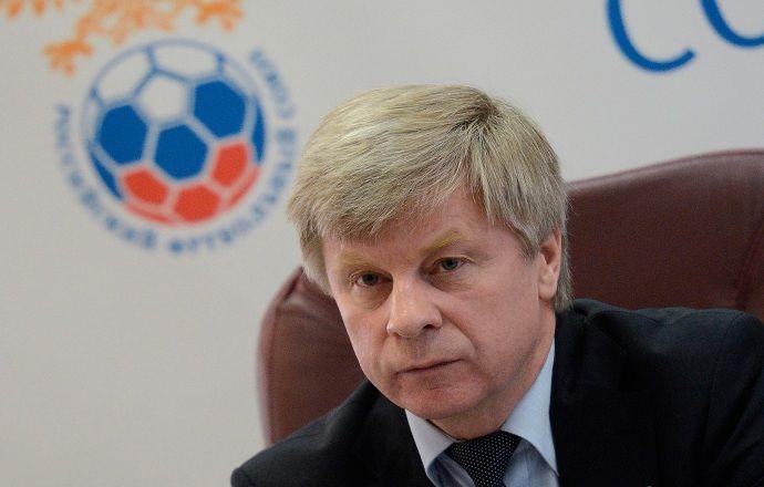 Николай Толстых попрощался с сотрудниками РФС