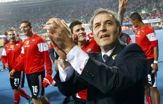 Главный тренер сборной Австрии объявил заявку команды на матч с Россией