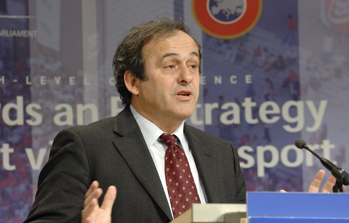 Мишель Платини выступил с заявлением относительно ситуации в ФИФА