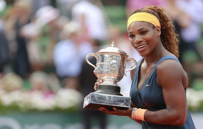 Серена Уильямс вышла в финал Открытого чемпионата Франции