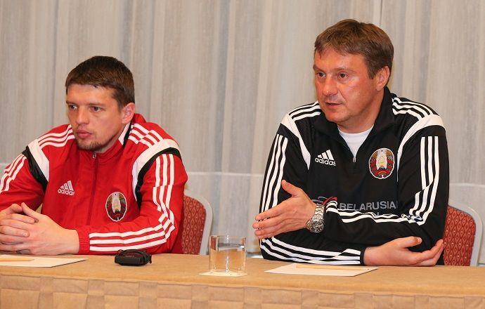 Александр Хацкевич взял на матч с россиянами 17 игроков