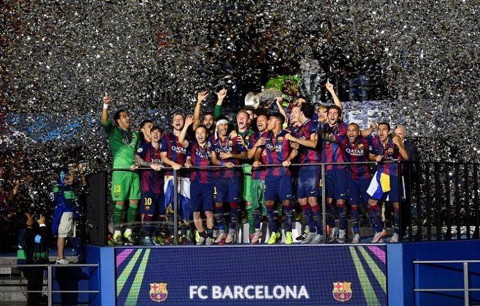 """Йозеф Блаттер поздравил """"Барселону"""" с победой в Лиге чемпионов"""