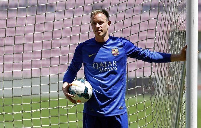 """Вратарь """"Барселоны"""" включён в заявку сборной Германии на молодёжное Евро"""