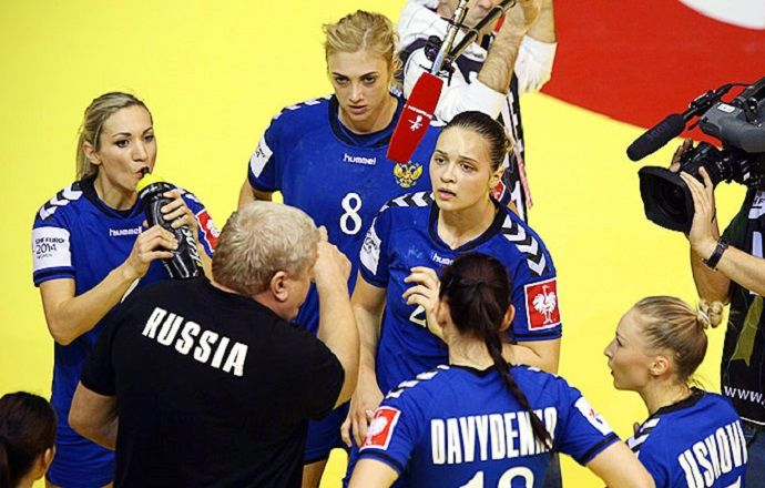 Российские гандболистки обыграли немок в первом отборочном матче к ЧМ-2015