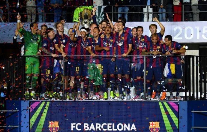 """Четырём футболистам """"Барселоны"""" придётся вернуть медали Лиги чемпионов"""
