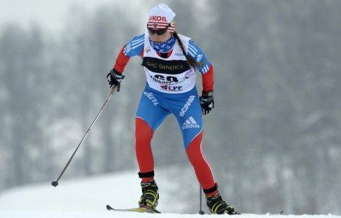 Лыжница Анастасия Седова победила в скиатлоне на чемпионате России в Тюмени
