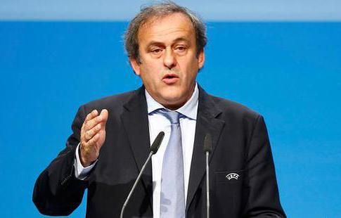 Мишель Платиини покинул пост главы УЕФА