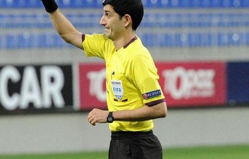 Алияр Агаев обслужит товарищеский матч по футболу Россия - Гана