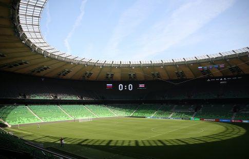 """Стадион """"Краснодара"""": 721 видеокамера, 28 фастфудов, 177 туалетов"""